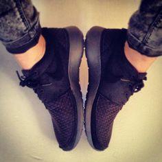 Nike Rosherun Woven Black Anthracite