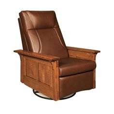 Amish McCoy Rocker Recliner Swivel