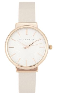 """Olivia Burton Watch"" by maddieledger on Polyvore featuring Olivia Burton, women's clothing, women, female, woman, misses and juniors"