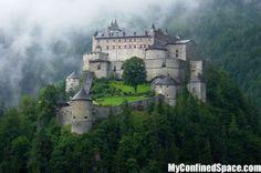 hohenwerfen castle salzburg austria