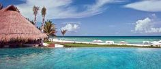 Grand Velas, Riviera Maya Grand Velas is a 493-suite property comprising of three discrete resorts, an adults-only oasis with sleek ocean-facing suites, a two-story spa, plus all the amenities one would wish for at an all-inclusive luxury resort.