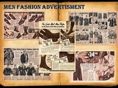 men fashion advertisment