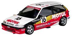 Skynet BEEMAX series Honda Civic EF3 group A race 1988 MOTUL NO.10 kit 1/24 #Skynet