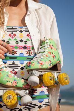 O QUE: patins de menina Farm / QUANTO: R$ 598,00 / ONDE: http://www.farmrio.com.br/loja/presentao/produto/18339?pagina=1&contexto=objetos&idestampafiltro=23948