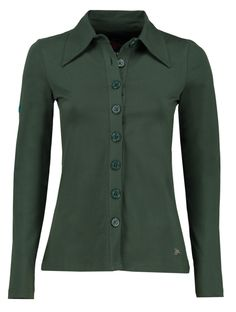 Tante Betsy shirt Luna solid green
