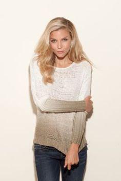 Guess - Long-Sleeve Dip-Dye Pullover