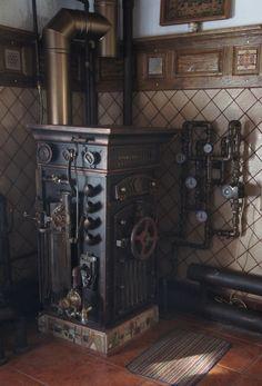 Soviet Steampunk Boiler