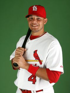 Yadi from the STL Cardinals :) does he know we are dating????