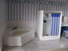 miniature bathroom PHOTO LS