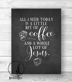 Quote Bible Verse wall art Scripture Print wall decor by SpoonLily, $15.00