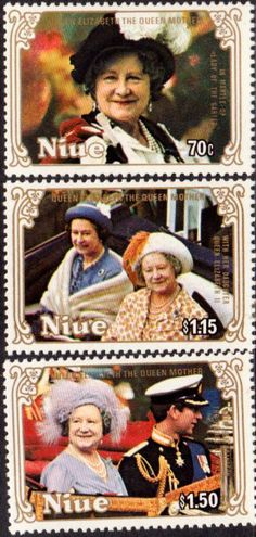 Ascension Islands 1985 Queen Mother Life and Times Set Fine Mint SG 376 9 Scott 372 5 Other Royalty Stamps HERE