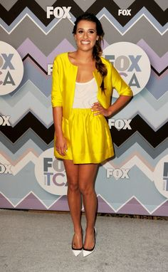 Lea Michele — 2013 Fox All-Star Party