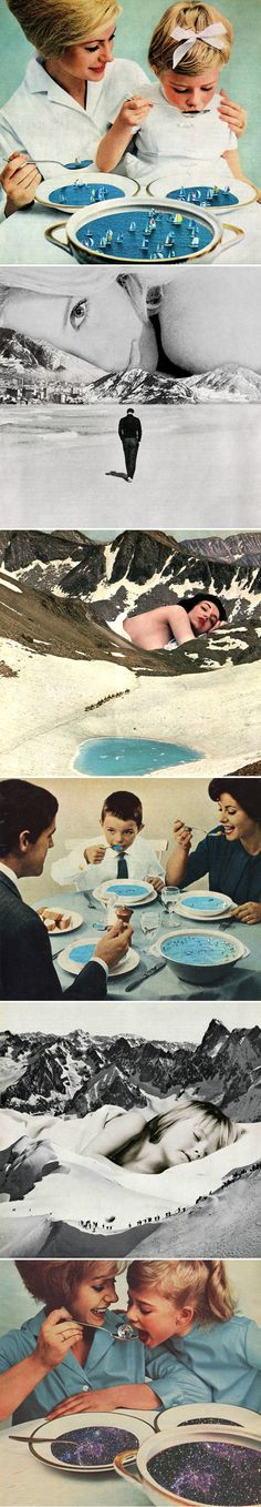 collages by sammy slabbinck