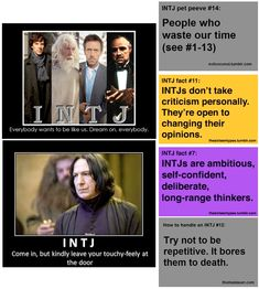 My husband is an INTJ, we have the most interesting conversations and arguments.