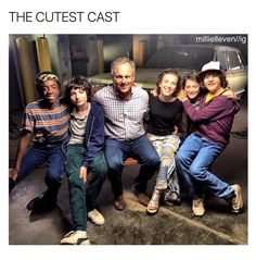 Stranger Things - the cast