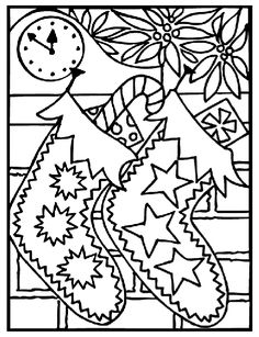 Free Christmas Coloring Pages Image