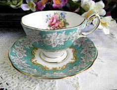 Royal Albert Enchantment Bone China Tea Cup and Saucer
