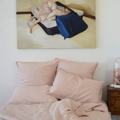 Pink Duvet Cover Duvet Covers, Bedding, Lime, Colours, French, Limes, French Language, Bed Linens, Beds