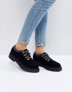 Asos MARCHER Chunky Hiker Shoes