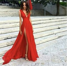 370431e80ad7 File_70f7f7ab3c_original Red Formal Dresses, Split Prom Dresses, Red  Wedding Dresses, Evening Dresses For