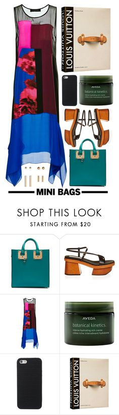 """""""Marina"""" by hanraven ❤ liked on Polyvore featuring Sophie Hulme, STELLA McCARTNEY, Thakoon, Aveda and Louis Vuitton"""