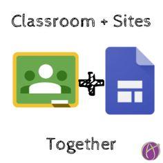 New Google Sites + Google Classroom - Teacher Tech