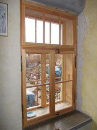 Kastlové okno - borovice