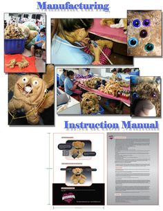 Manufacturing of Plush Toys & Product Instruction Sheet