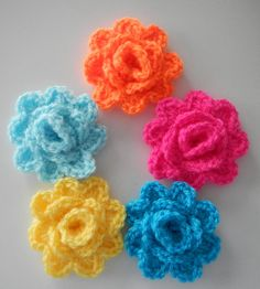 This is part 2 of 5 of the Granny Rose Crochet-a-long. This file will teach you to crochet the rose from the granny rose square, which can be used for about a bazillion projects. :-)