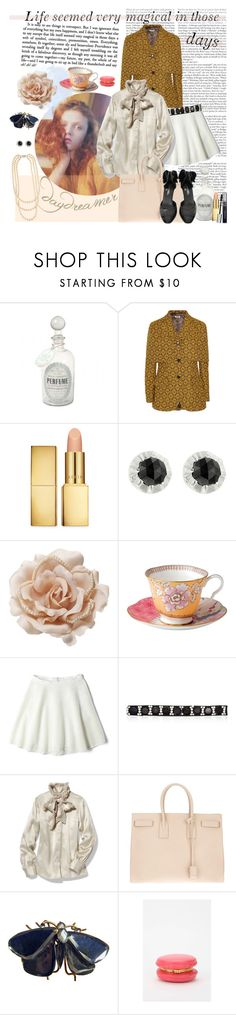 """Life Seemed Very Magical"" by bullygrrl ❤ liked on Polyvore featuring Miu Miu, AERIN, Sethi Couture, Accessorize, Wedgwood, DKNY, Marni, Tory Burch, Yves Saint Laurent and Chanel"