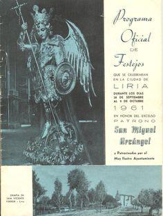 Cubierta Libro de Fiestas de 1961
