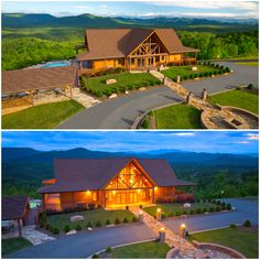 This is the 6000 square foot Lodge at The Coves at Round Mountan North Carolina, built by Timber Block Custom Homes. #timberblock #customhome #homedesign #luxurylifestyle #mountainhouse #homebuilding #homeplans #floorplan #architecture Wood Homes, Make Dreams Come True, Coving, Engineered Wood, House In The Woods, Square Feet, Custom Homes, North Carolina, Building A House