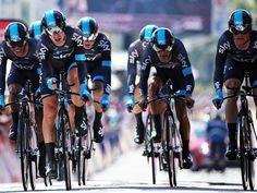 cycling Team Sky TDF 2013