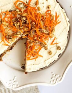 Paleo Carrot Cake (grain-free, dairy-free, fruit-sweetened) | Fresh Planet Flavor