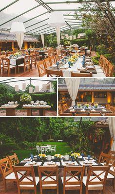 casamento em casa campo serra petrópolis amarelo e azul fotografia manoela carvalhais