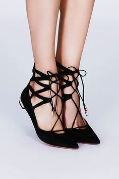 a3ce33709 Accessorize| Aquazzura Belgravia flats Flat Dress Shoes, Lace Flats, Black Flats  Shoes,