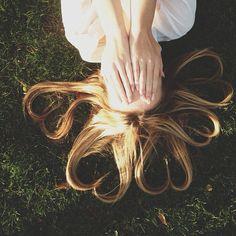 #hair #blonde #acaciabrinley #acaciaclark #hearts