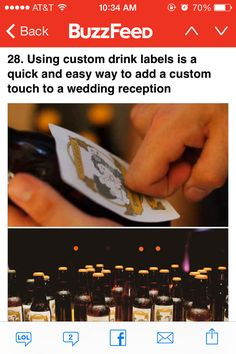 Idea for favors or just to have at the bar