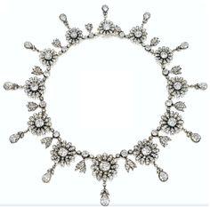 antique+diamond+necklace+flowers+floral+daisy+1880.PNG (738×730)