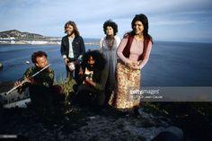 Ibiza Hippie Paradise. Groupe de hippies musiciens à Ibiza.