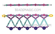 Free pattern for necklace Nicole | Beads Magic | Bloglovin'