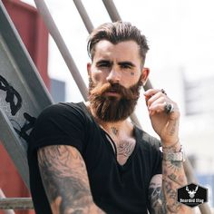 the-bearded-stag:Chris Perceval shot by Aleksandar Jason www.thebeardedstag.com #thebeardedstag