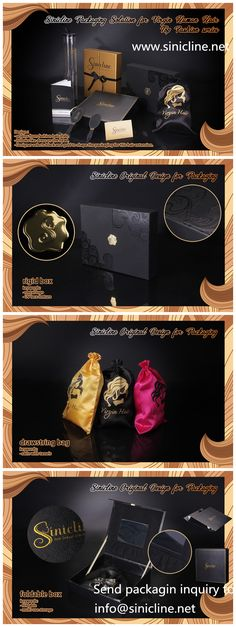 Luxury hair extension packaging solution, created by Sinicline. This set of packaging includes luxur Luxury Packaging, Box Packaging, Packaging Design, Fashion Packaging, Business Hairstyles, Trendy Hairstyles, Hair Boutique, Hair Stores, Hair Extensions Best