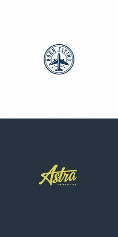 Collection of various logos and marks by Unipen, via Behance