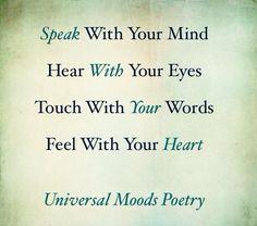 mood in poetry | Pinned by Universal Moods Poetry