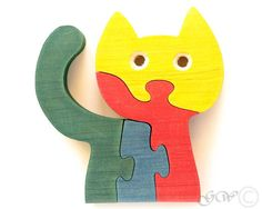 Hey, I found this really awesome Etsy listing at http://www.etsy.com/listing/173026930/wooden-puzzle-cat-wooden-toys-wooden