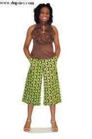 Green Contemporary African Print Shorts, , Green Contemporary African Print Shorts Very fashionable Comfortable Bold Print For casual wear Vibrant Top not included. African Inspired Fashion, African Dresses For Women, African Print Fashion, Africa Fashion, African Women, Fashion Prints, African Clothes, African Art, African Print Pants