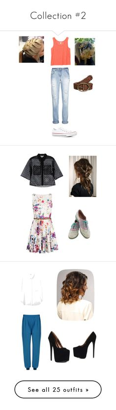 """Collection #2"" by cheresh ❤ liked on Polyvore featuring Monki, Converse, even&odd, Bass, STELLA McCARTNEY, Sea, New York, Marc by Marc Jacobs, rag & bone, Minnetonka and Vero Moda"