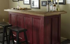 How To Build Your Own Home Bar | Pinterest | Post check, Epoxy and Bar