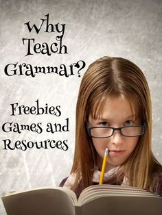 Why teach those pesky grammar skills anyway? Are they really THAT important? Get the answer on this post, plus a freebie, free games, and a terrific teacher resource link.